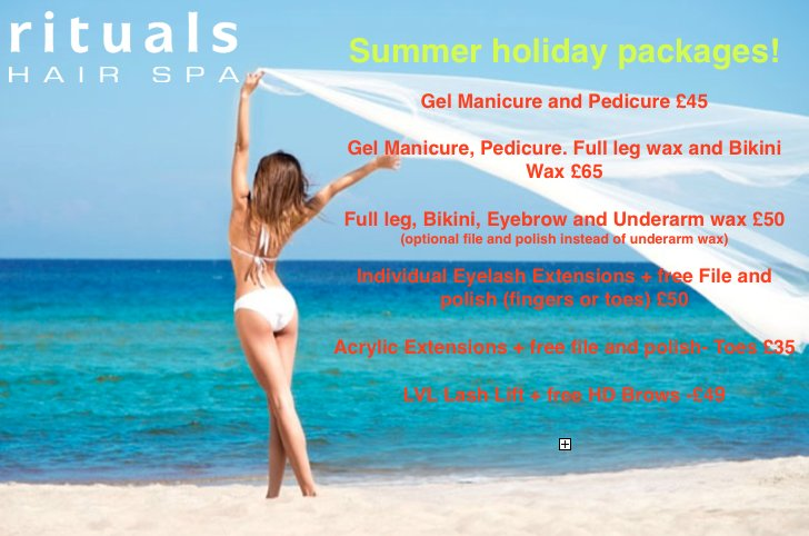 Summer Beauty Packages