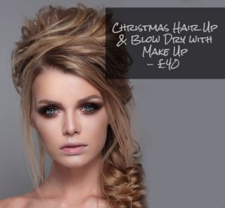 Christmas Hair Up & Make Up Offer
