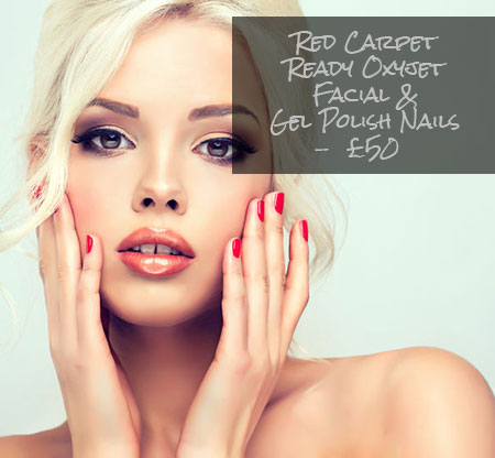 Oxyjet Facial & Gel Polish Nails – £50