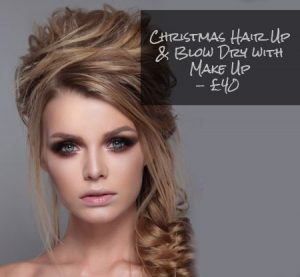 Christmas hair Up Offer, Rituals Hair Spa, Scotter, Lincoln, Scunthorpe, Dunstable