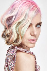 How to Get Rose Gold & Silver Grey Hair Colours