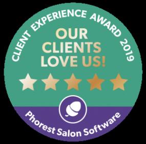 Client Experience Award digital badge